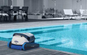 หุ่นยนต์ทำความสะอาดสระว่ายน้ำ Dolphin