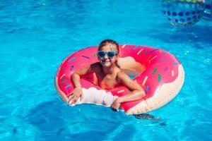 สระว่ายน้ำสำหรับเด็กเล็ก