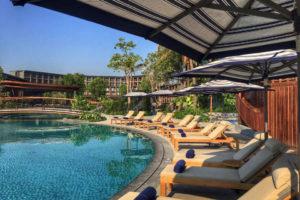 สระว่ายน้ำ Marriott Resort Hua Hin