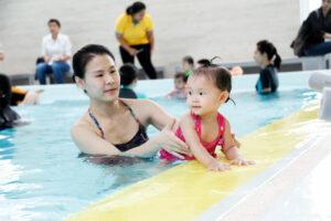 สระว่ายน้ำ Manta Kids