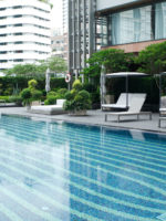 สระว่ายน้ำ Bangkok Marriott Marquis Queen's park