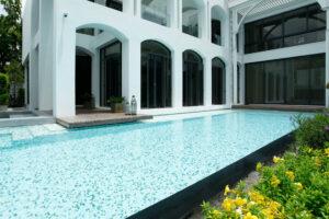 สระว่ายน้ำ บ้านพักอาศัย สุขุมวิท 53
