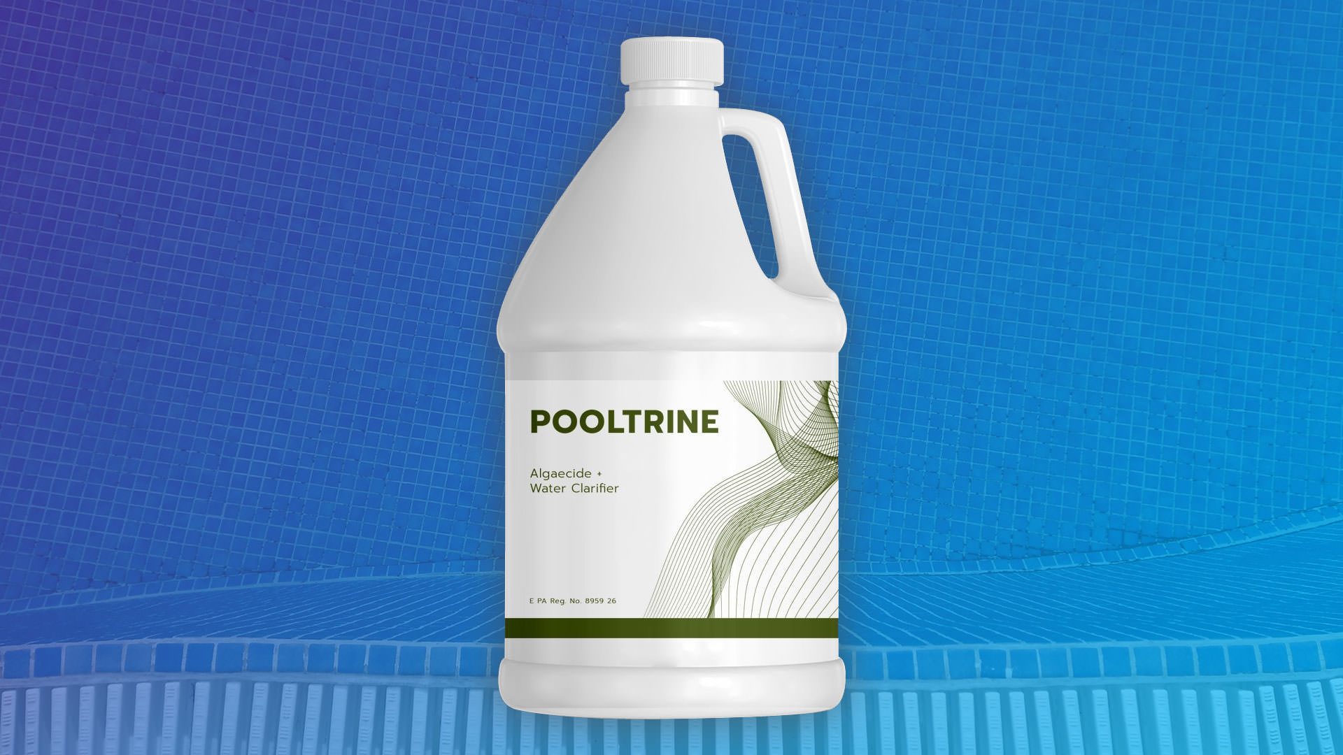 Pooltrine น้ำยาสระว่ายน้ำ